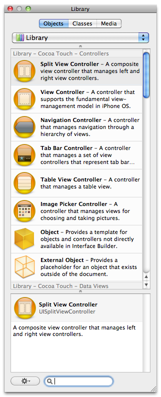 Interface Toolbar Library